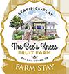 Bees Knees Fruit Farm and Farm Stay Logo