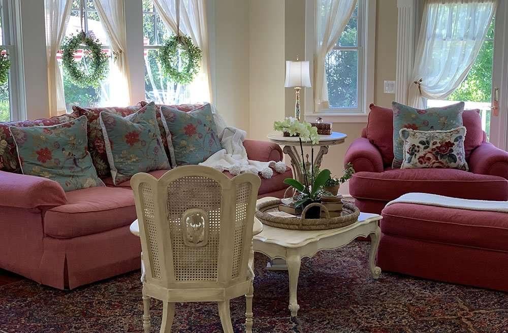 Living Room at Bee's Knees Vacation Rental San Luis Obispo
